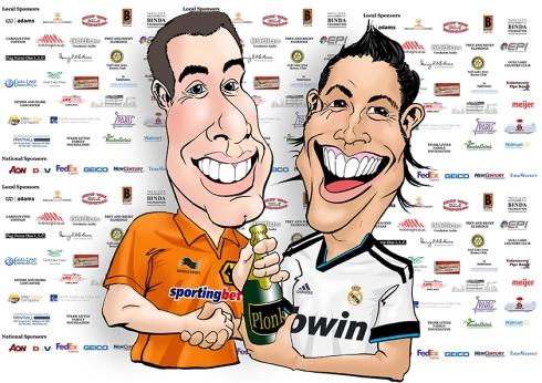 Marcus and Ronaldo