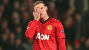 Rooney dejected