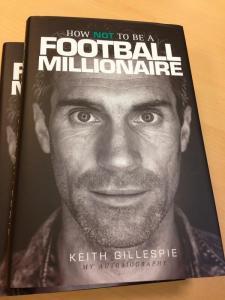 Keith Gillespie Book