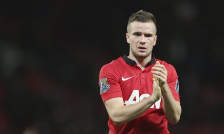 Tom Cleverley blamed the referee for Manchester United's loss against Tottenham
