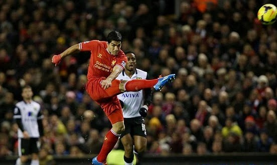luis Suarez goals video vs Norwich City 2013