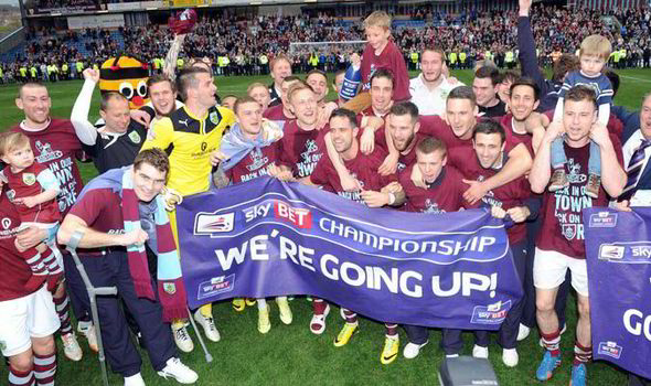 burnley Promotion