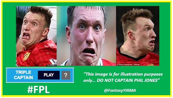 Phil Jones TRIPLE CAPTAIN