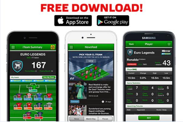Play UEFA Champions League Fantasy Football – FREE