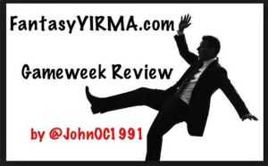 Gameweek Review John