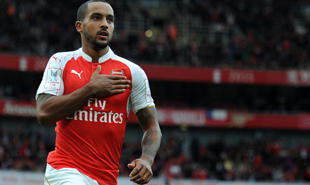 Theo Walcott is close to committing to Arsenal, according to his manager, after showcasing his attac
